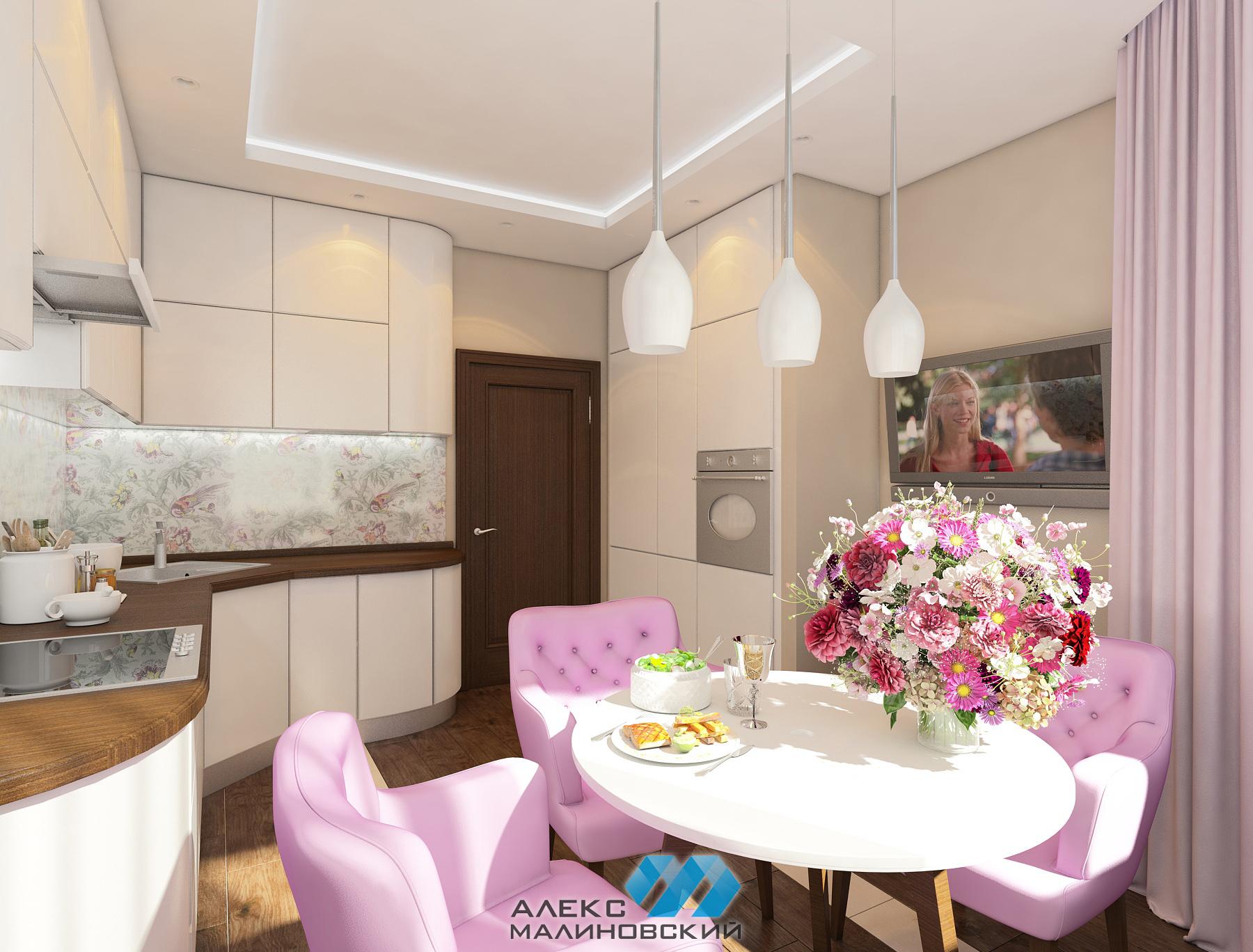 Кухня, 2х комнатная квартира, Новопеределкино, Москва