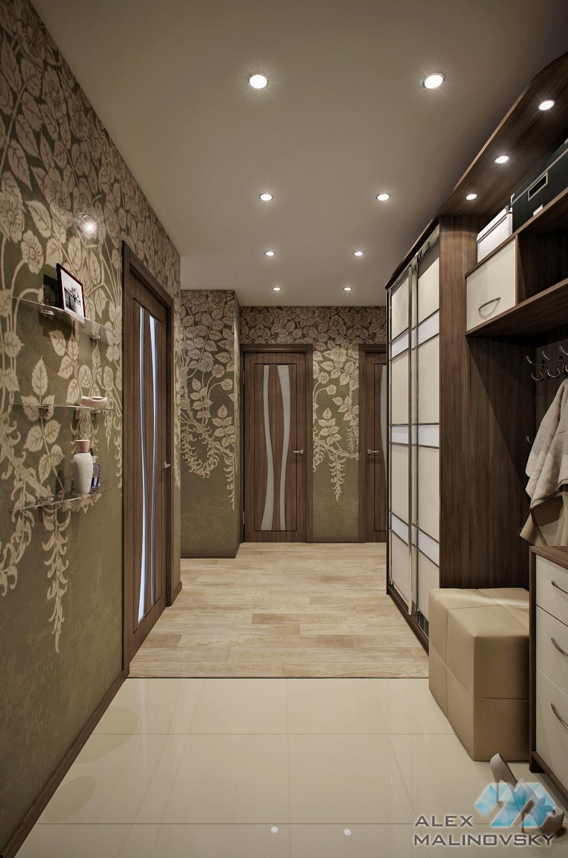 Прихожая, 2х комнатная квартира, Московская область
